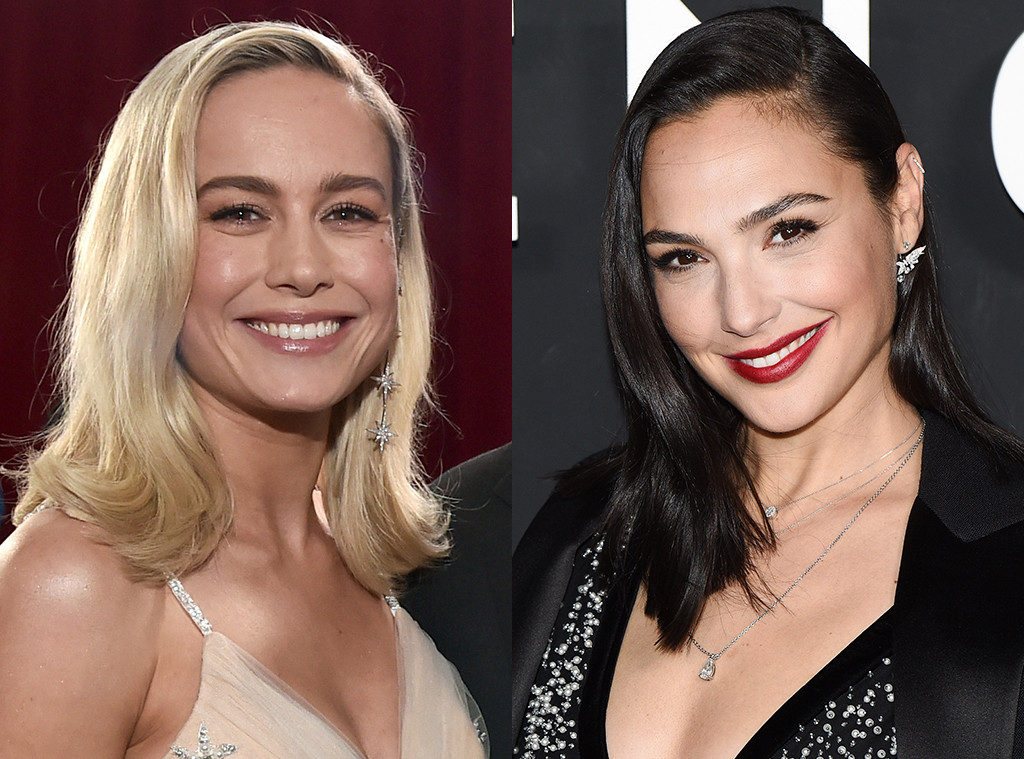 Flipboard Wonder Woman Gal Gadot Supporting Captain Marvel Brie Larson Is The Epitome -7346