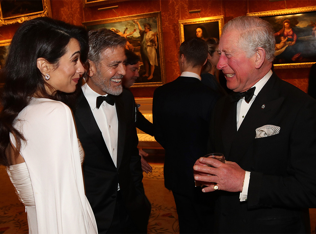 Amal Clooney, George Clooney, Prince Charles, Prince's Trust Dinner