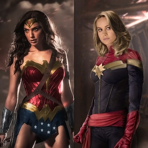 Wonder Woman, Captain Marvel