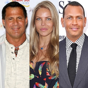 Jose Canseco, Jessica Canseco, Alex Rodriguez