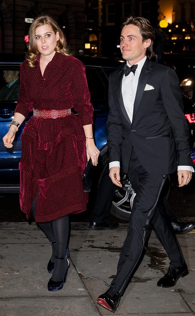 Princess Beatrice, Edoardo Mapelli Mozzi, 2019 Portrait Gala