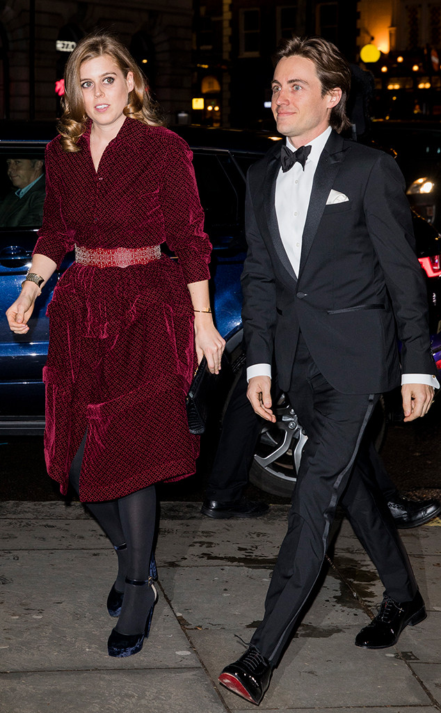 4b92567205c Princess Beatrice Makes Things Red Carpet Official With Boyfriend at  Star-Studded Gala