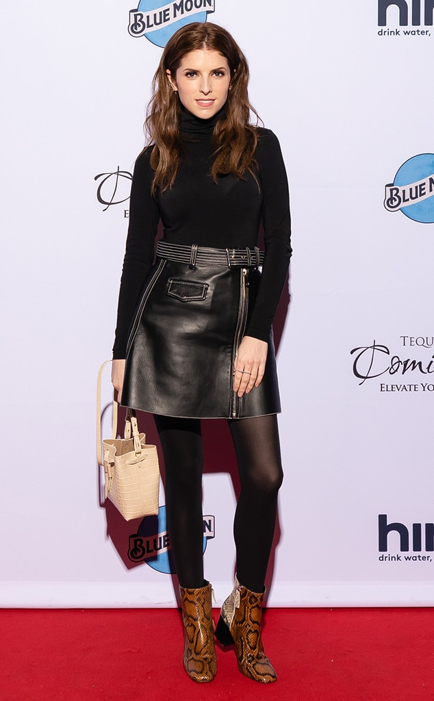 Anna Kendrick -  The A-list actress hits the red carpet at A-List Communications' celebration for FilmNation Entertainment presented by Tequila Comisario.