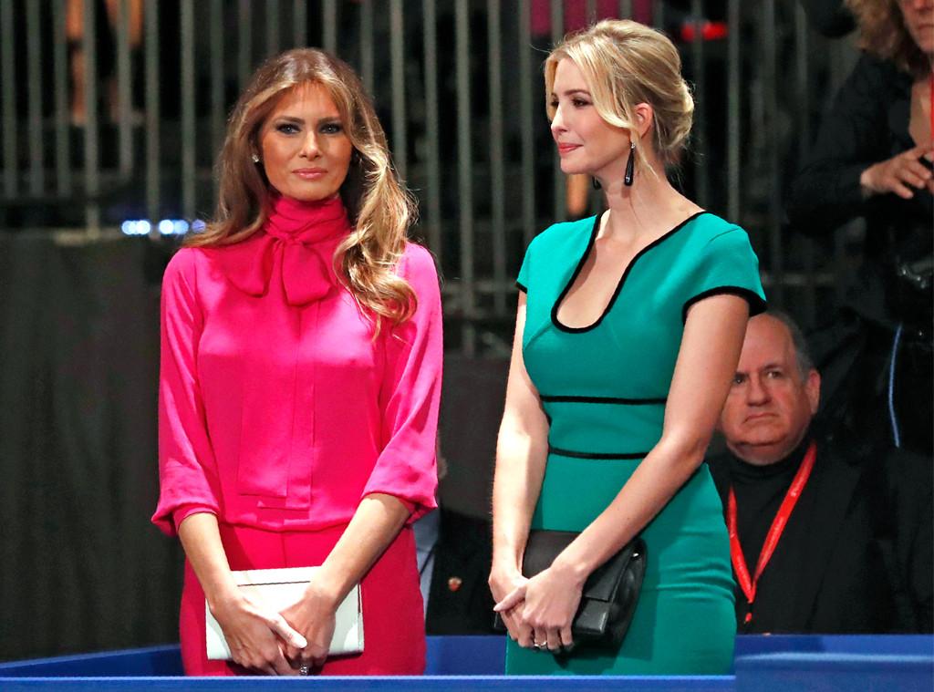 Melania Trump, Ivanka Trump