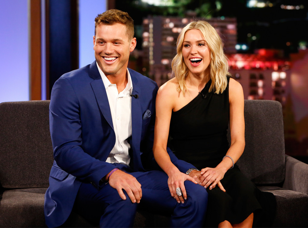 Colton Underwood, Cassie Randolph, The Bachelor, Jimmy Kimmel Live