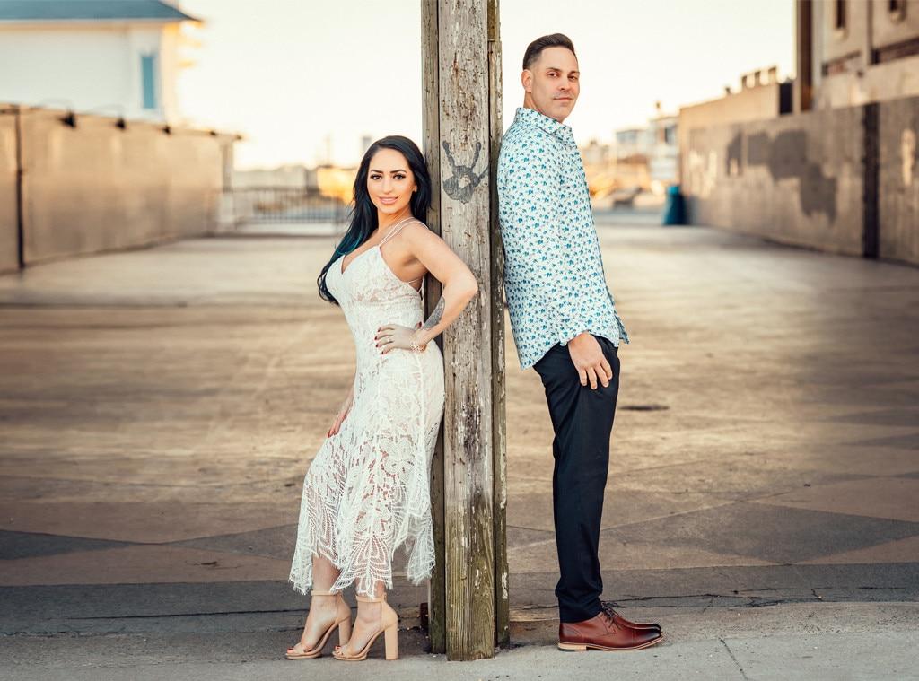 Angelina Pivarnick, Chris Larangeira, Jersey Shore Engagement Shoot