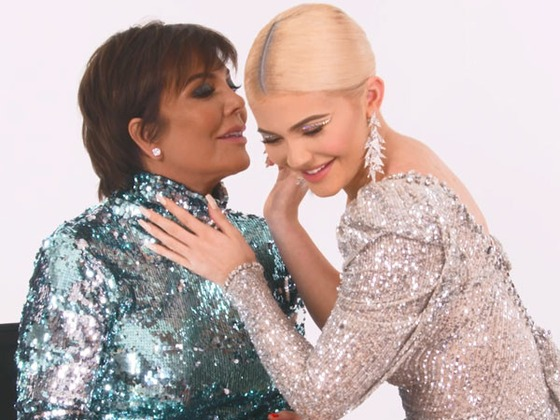 """""""Stop Talking!"""" Kylie Jenner Hilariously Tries to Teach Kris Jenner How to Master Her Signature Lip Look"""