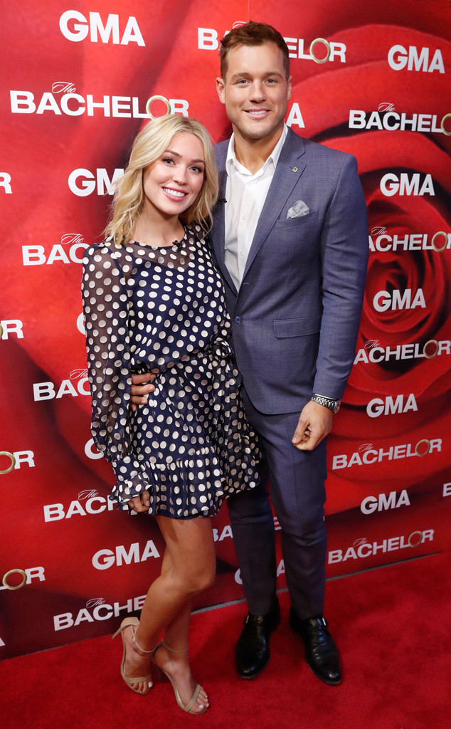 Colton Underwood, Cassie Randolph, The Bachelor, Good Morning America