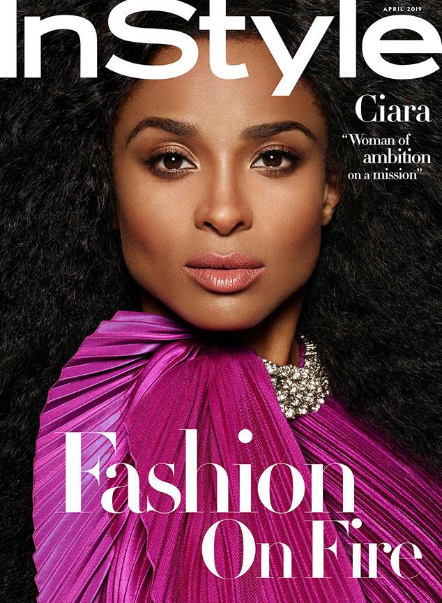 Ciara, InStyle, April 2019