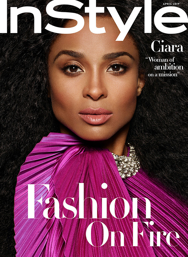 Ciara, InStyle, April 2019