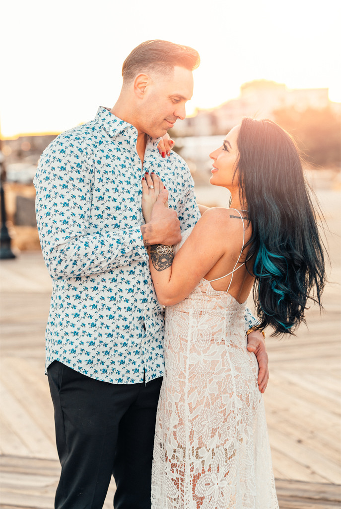 Angelina Pivarnick, Chris Larangeira, Jersey Shore Engagement Shoot