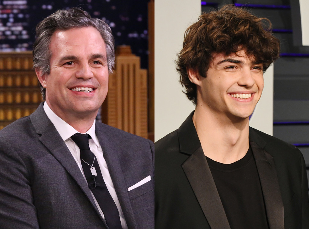 Mark Ruffalo and Noah Centineo
