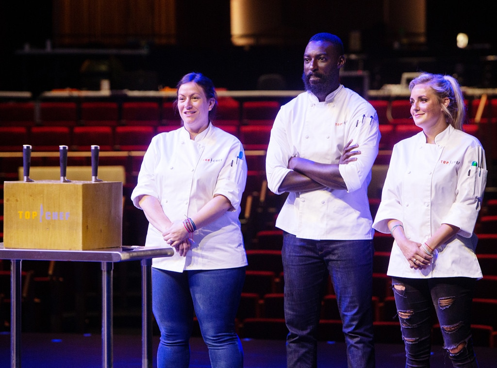 The Critiques -  Throughout the season, rotating guest judges critiqued the contestants' dishes. The trio said Tom was the hardest regular judge and  Nancy Silverton  was the roughest guest judge.