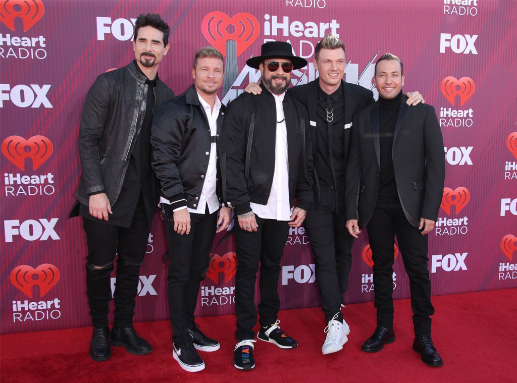 Backstreet Boys -  Everybody, backstreet's back! Nick Carter and the group celebrate their  DNA  World  Tour  by delivering a special performance at the show.