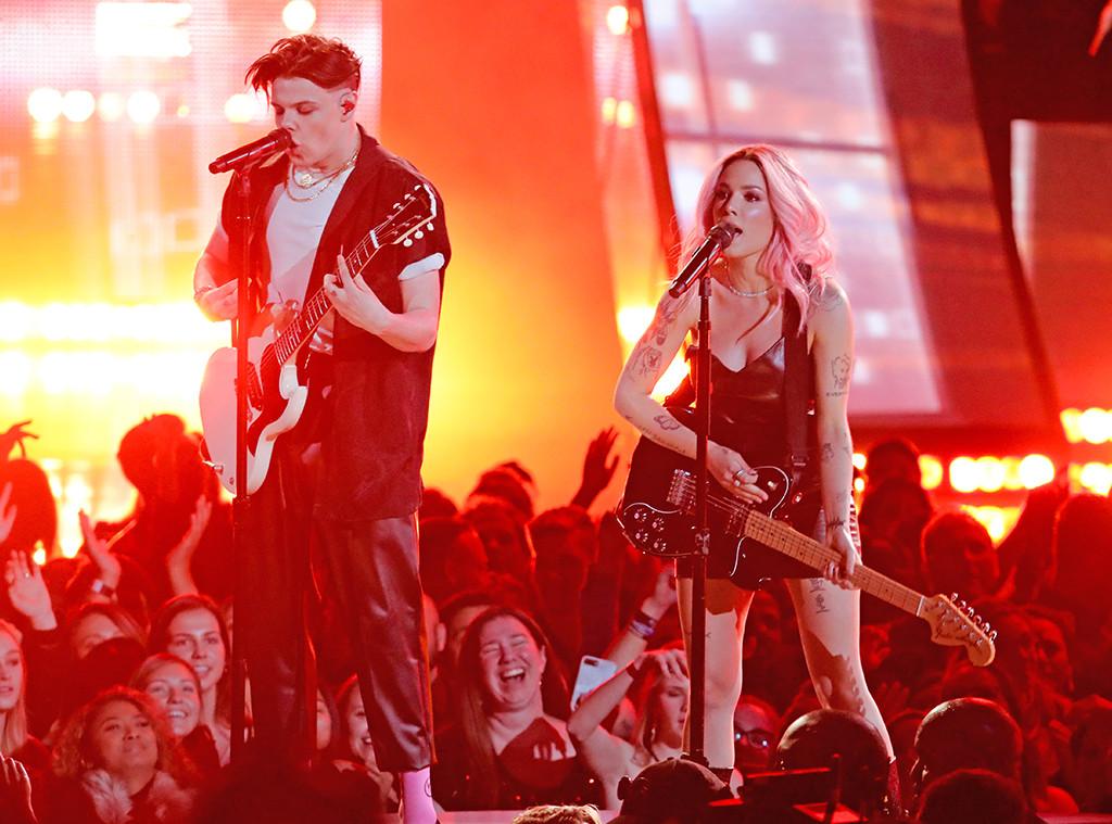 Halsey, Yungblud, 2019 iHeartRadio Music Awards