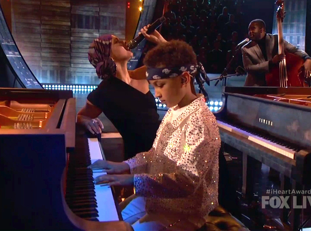 Alicia Keys and Her Son Join Forces For Adorable Duet at 2019 iHeart Radio Music Awards