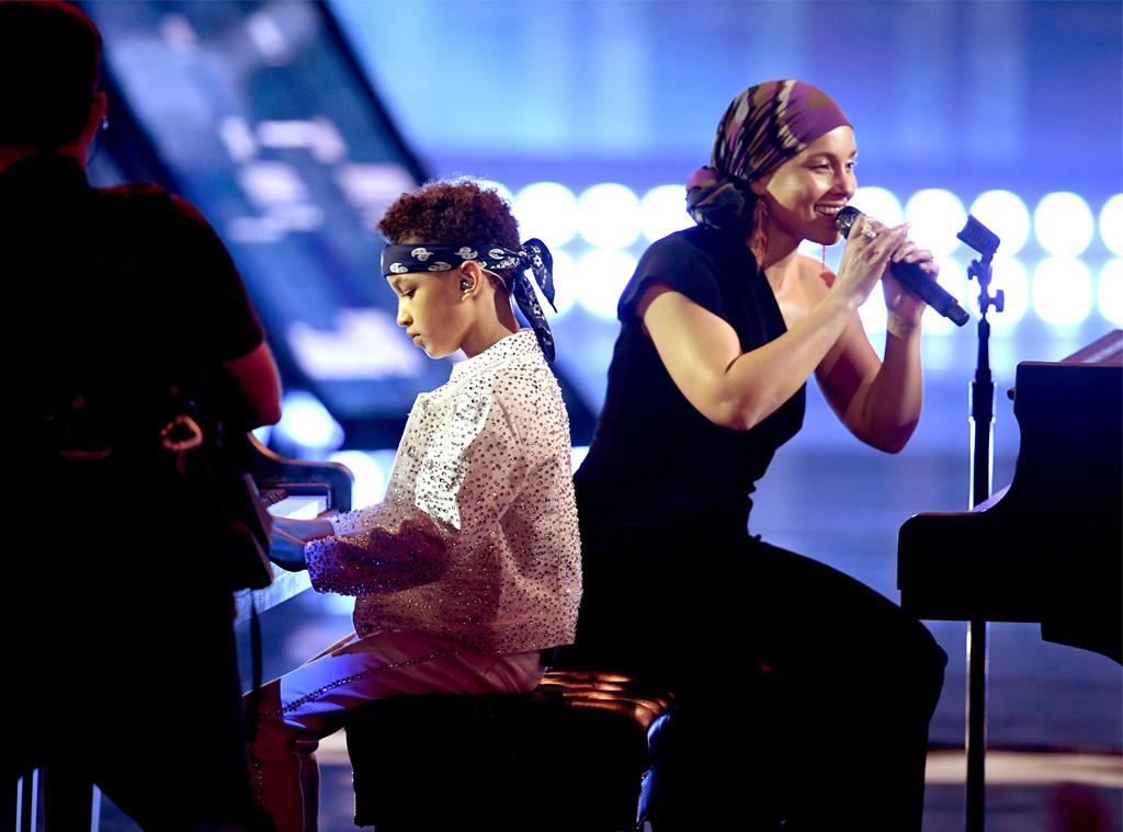 Alicia Keys, 2019 iHeartRadio Music Awards, Show