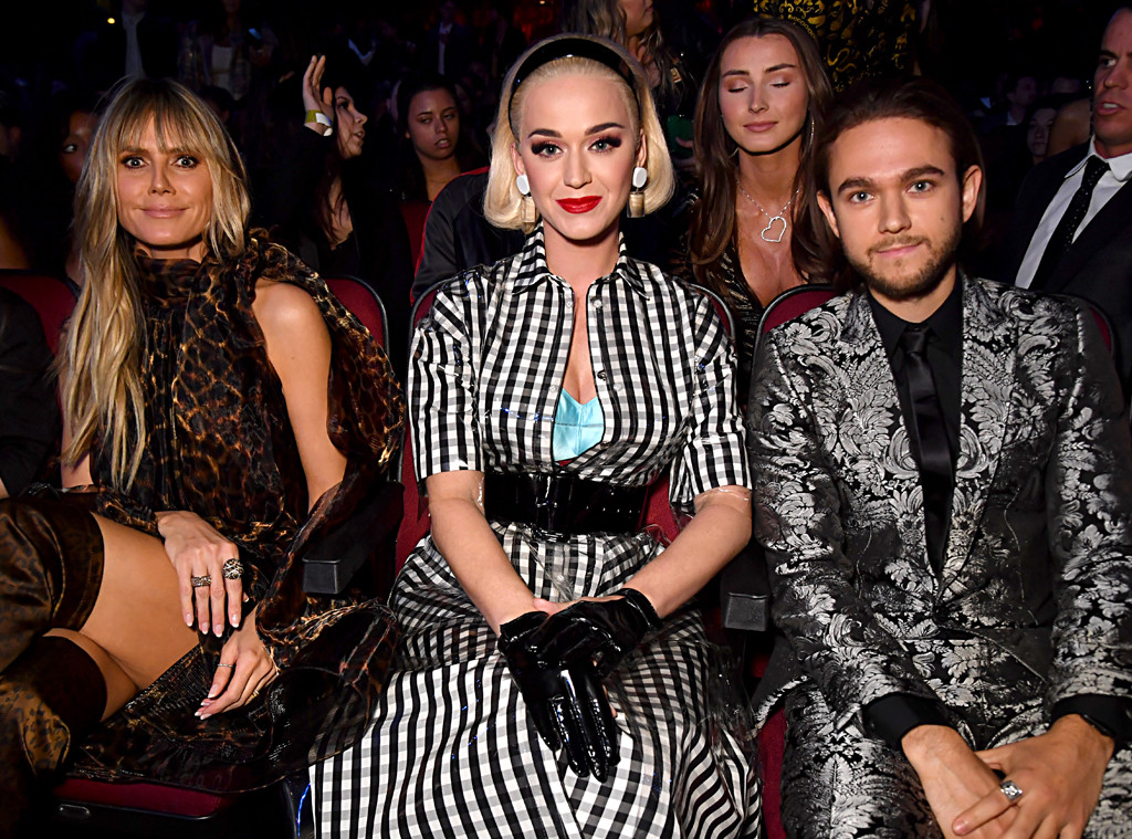 Heidi Klum, Katy Perry, Zedd, 2019 iHeartRadio Music Awards