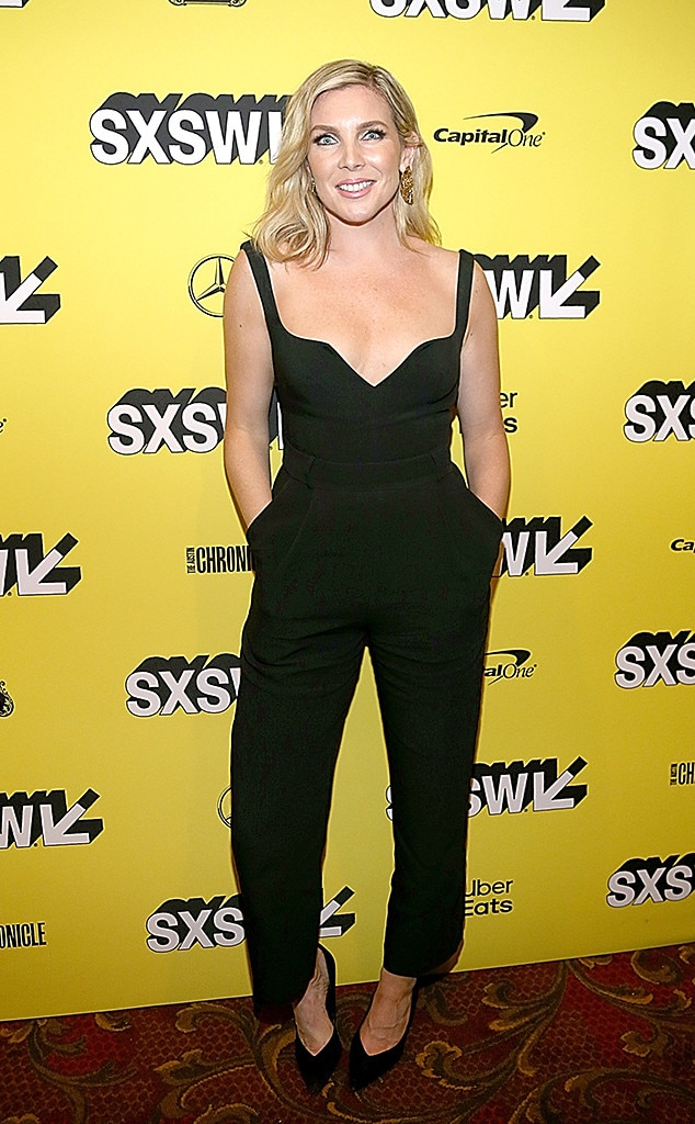 June Diane Raphael -  The  Grace and Frankie  actress rocked a sexy black jumpsuit that we are loving.