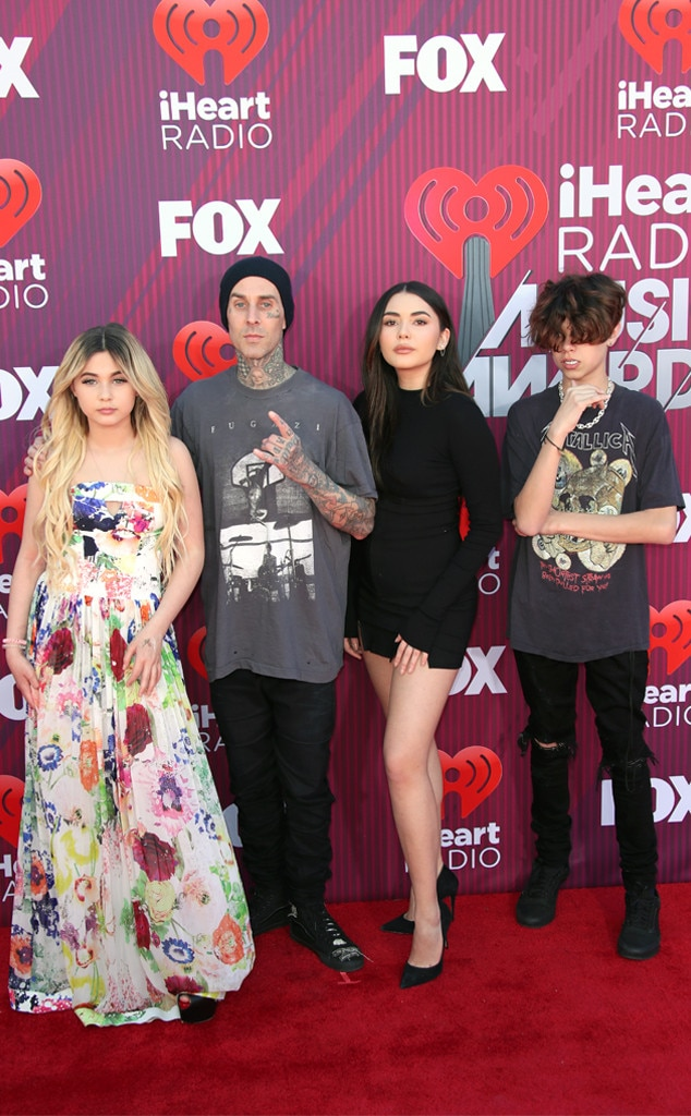 Travis Barker from 2019 iHeartRadio Music Awards Red Carpet