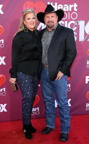 Trisha Yearwood, Garth Brooks, 2019 iHeartRadio Music Awards, Arrivals, Couples
