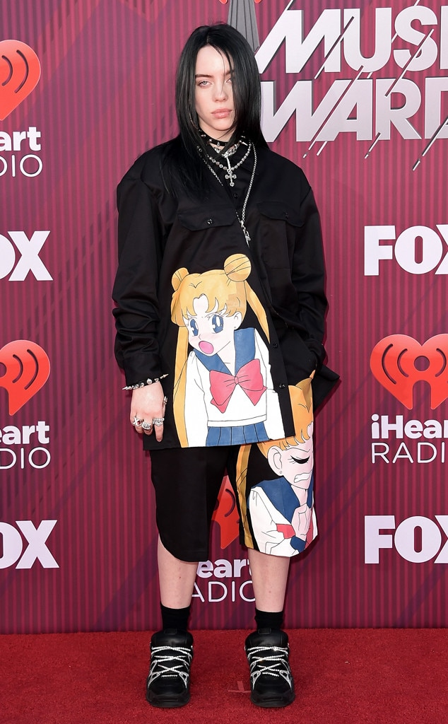 Billie Eilish, 2019 iHeartRadio Music Awards, Arrivals