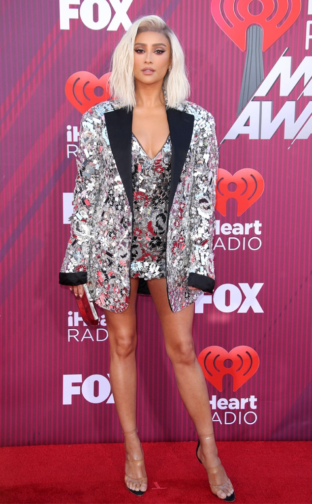 Shay Mitchell -  The  Pretty Little Liars  star brings the heat in her sparkling ensemble.