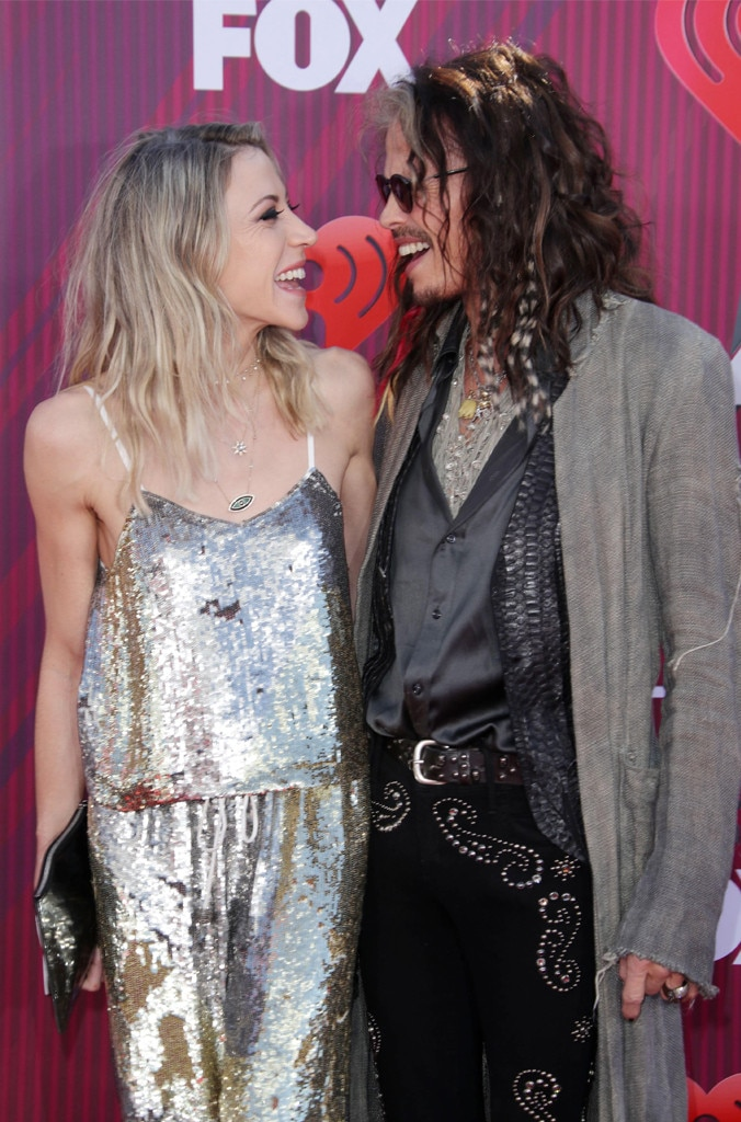 Aimee Preston & Steven Tyler -  The look of love!