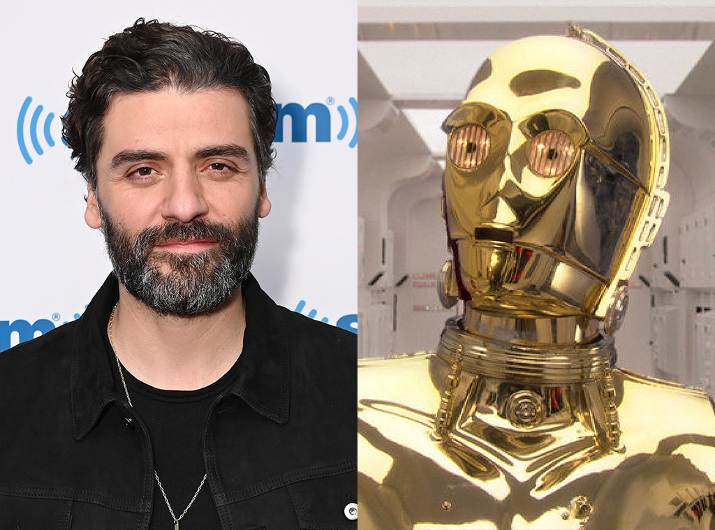 How Oscar Isaac Got Upstaged By C 3po After Wrapping Up Star Wars