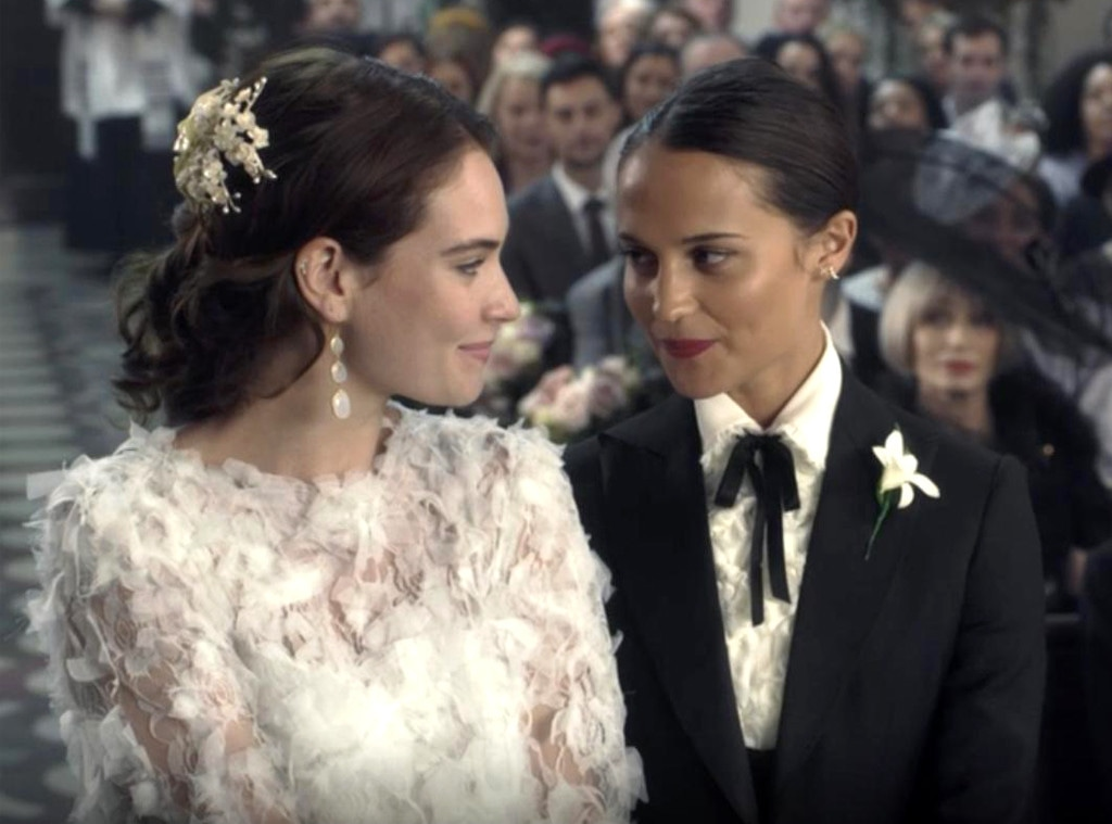 Lily James, Alicia Vikander, One Red Nose Day and a Wedding, Comic Relief