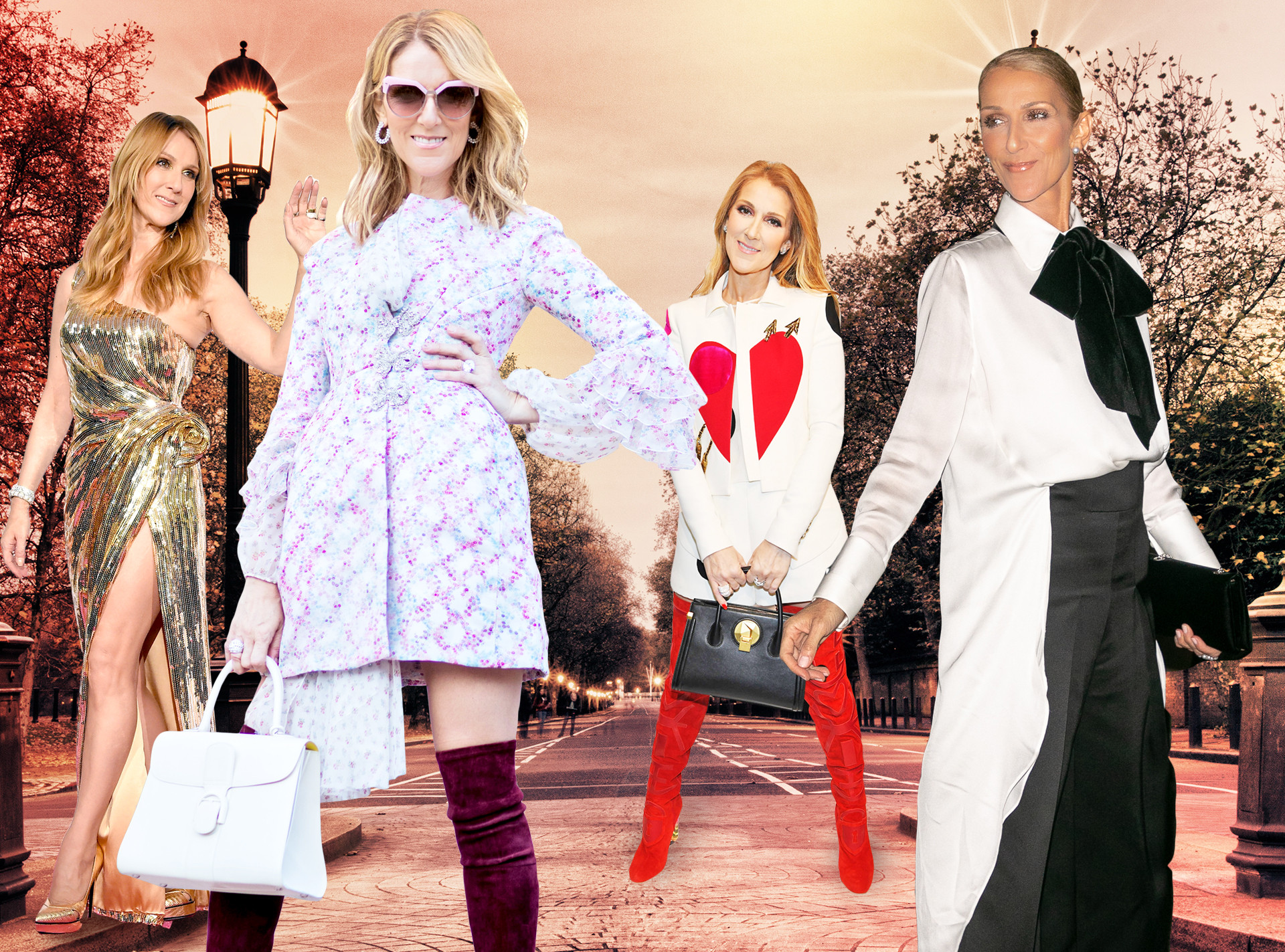 Celine Dion Birthday, Best Looks