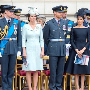 Kate Middleton, Prince William, Prince Harry, Meghan Markle