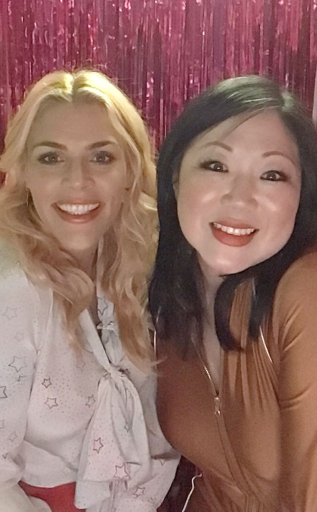 Margaret Cho - The Masked Singer  star and the E! personality glow for a snap in the photo booth.