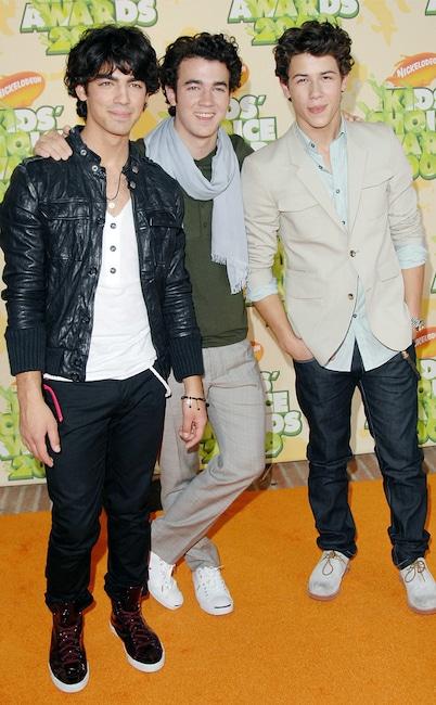 Nick Jonas, Kevin Jonas, Joe Jonas, The Jonas Brothers, 2009 Nickelodeon Kids Choice Awards
