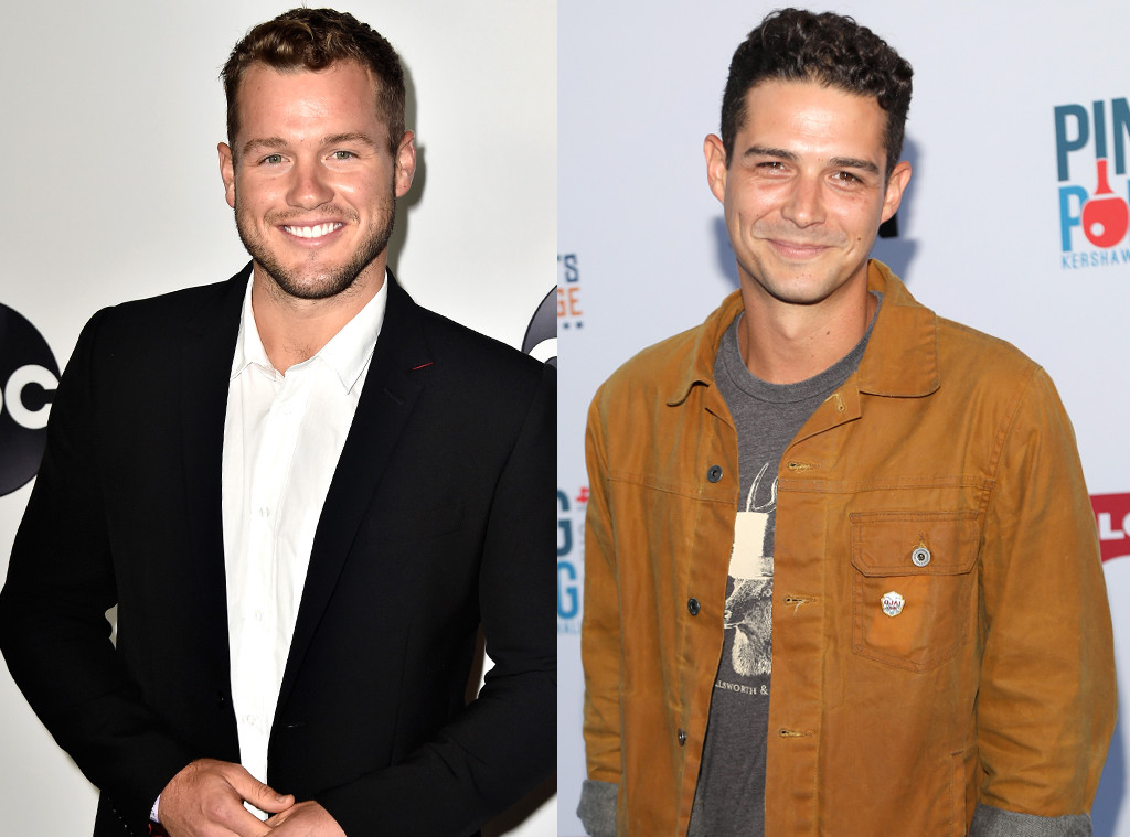 Colton Underwood, Wells Adams