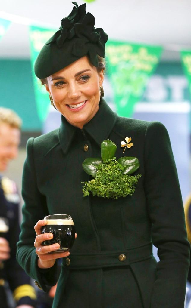 Prince William, Kate Middleton, St. Patrick's Day