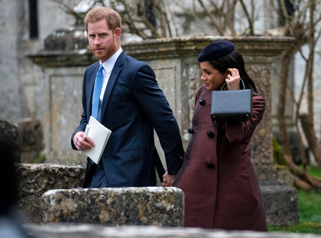 Prince Harry, Meghan Markle, Zara Tindall Christening