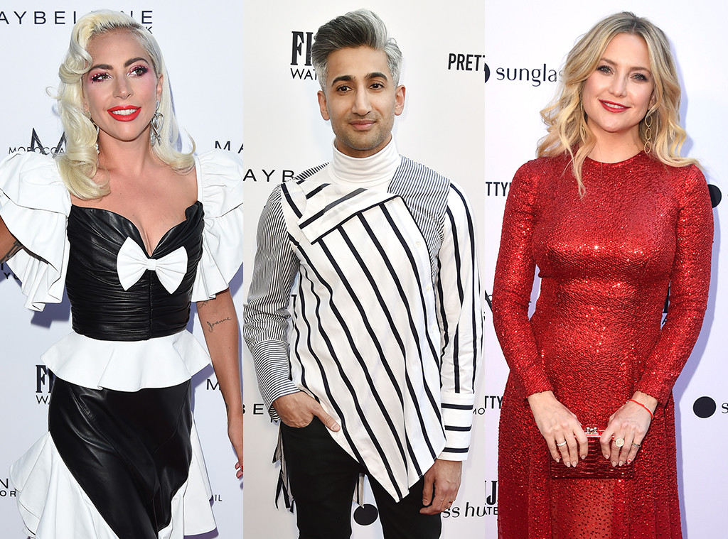 Lady Gaga, Tan France, Kate Hudson, Daily Front Row Awards