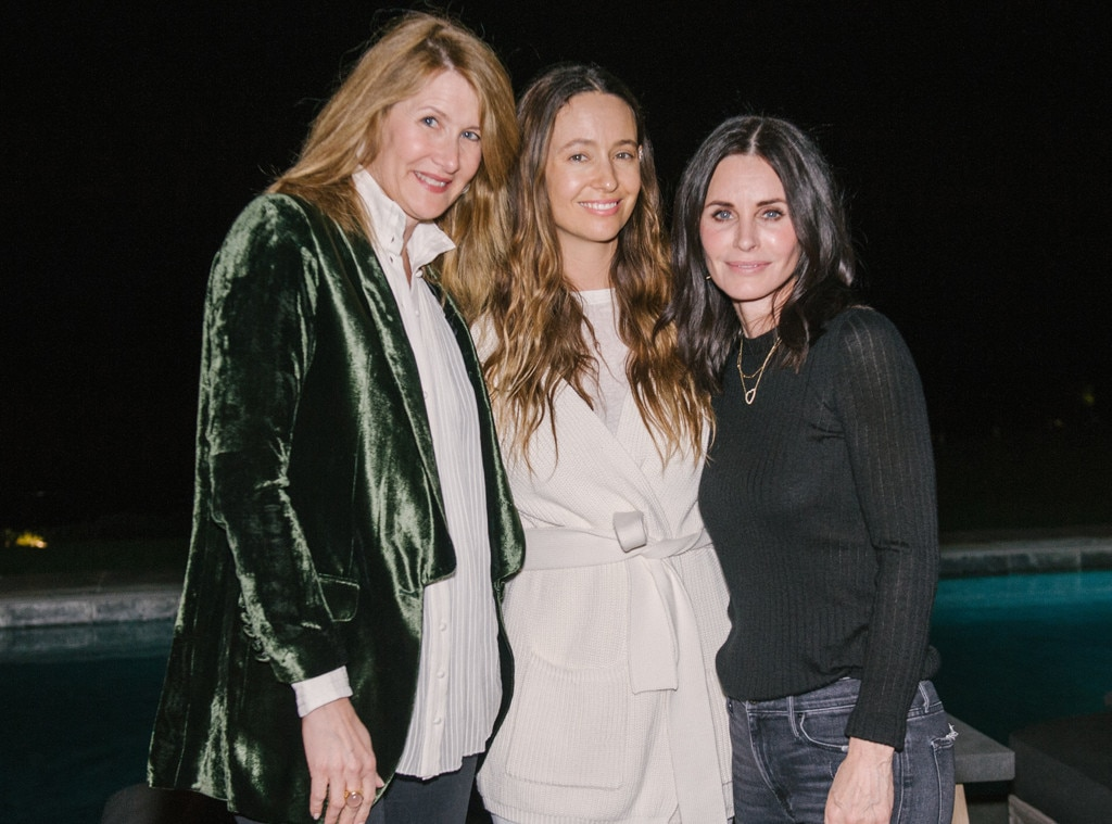Malibu - Courteney Cox  and  Laura Dern  celebrate the launch of  Jenni Kayne 's debut entertaining  book  titled  Pacific Natural: Simple Seasonal Entertaining  with an intimate dinner.