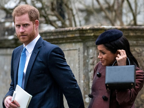 Prince Harry and Meghan Markle Attend Christening of Zara Tindall's Daughter Lena