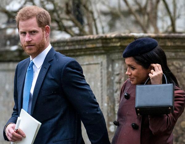 Prince Harry Amp Meghan Markle Attend Christening Of Lena