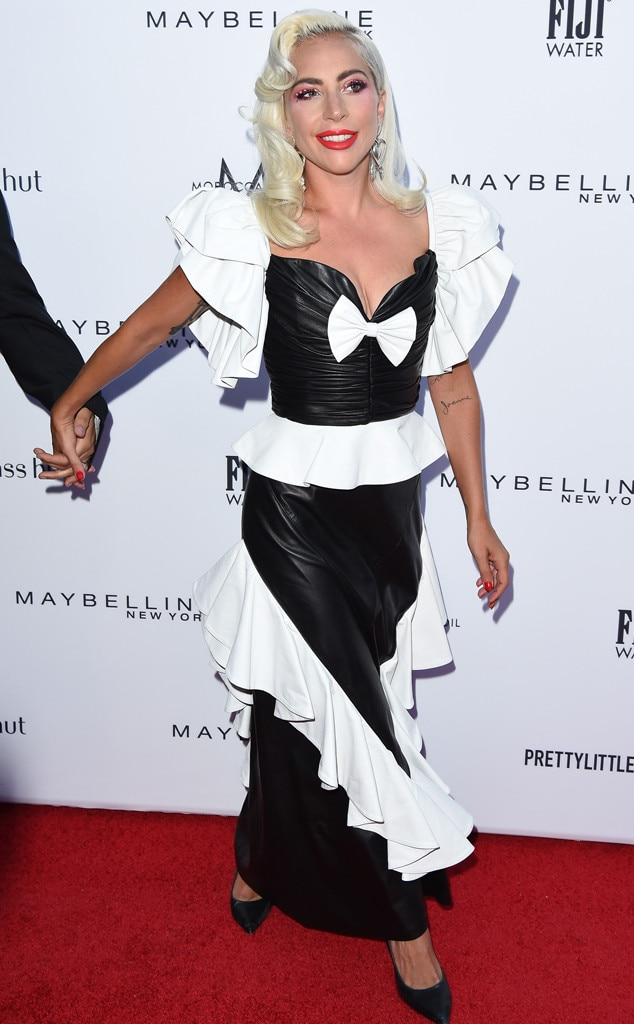 Lady Gaga -  The singer turned heads in her Rodarte gown.