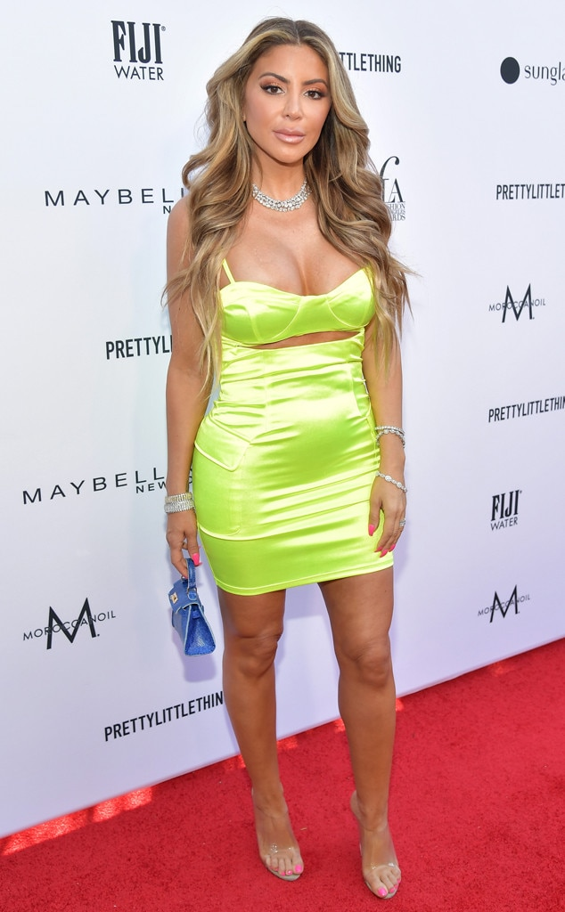 Larsa Pippen -  Pippen rocked a bright green dress on the red carpet.