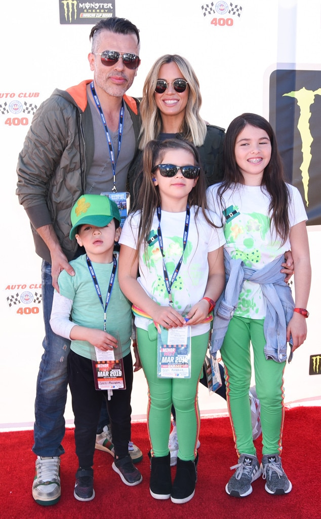 Teddi Mellencamp -  It's family day for the  Real Housewives of Beverly Hills  star who heads to the Monster Energy NASCAR Cup Series race at Auto Club Speedway on St. Patrick's Day.