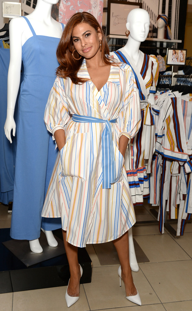 Celebrity Fashion: Eva Mendes