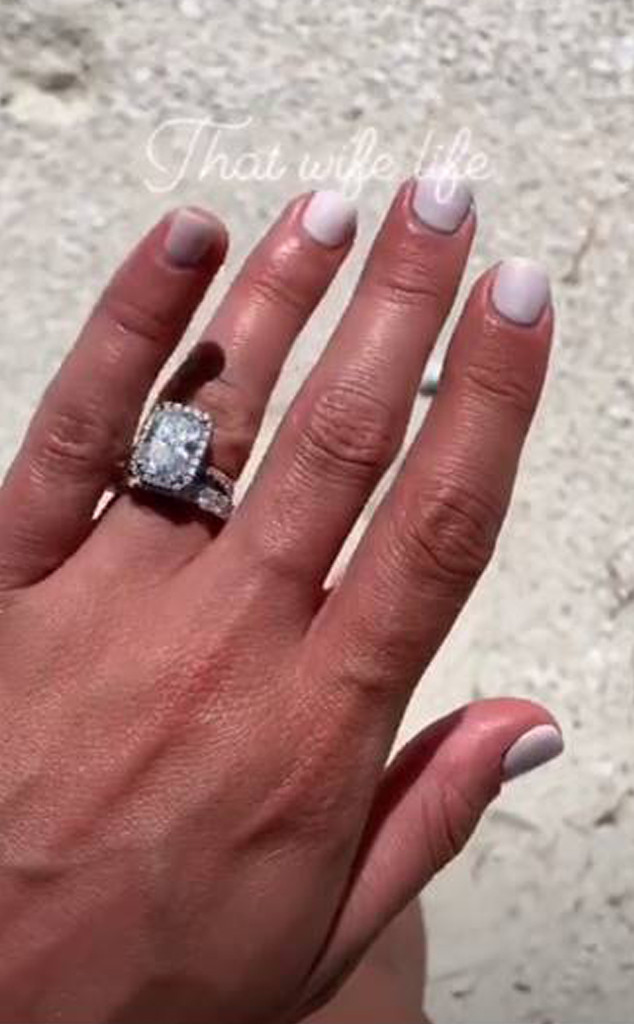 Lea Michele, Wedding Ring, Engagement Ring
