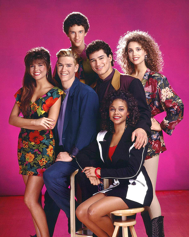 Saved by the Bell, Mark-Paul Gosselaar, Tiffani Thiessen, Mario Lopez, Elizabeth Berkley, Lark Voorhies, Dustin Diamond