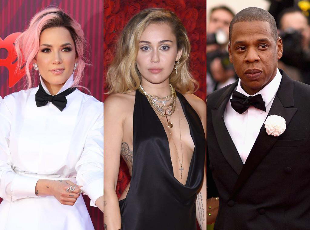Halsey, Miley Cyrus, Jay-Z