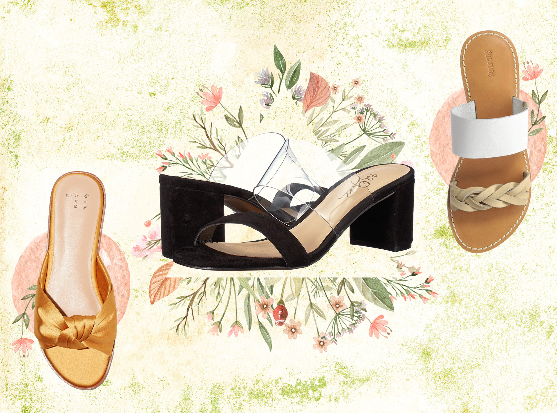Spring Sandals to Slide Into