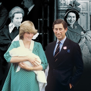 Royal Baby Deliveries, Princess Anne, Princess Diana, Queen Elizabeth